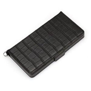 PGA PG-PTFP08BK 電子タバコPloom TECH用フリップカバー  クロコダイル調ブラック