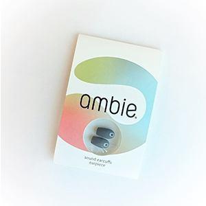 ambie(アンビー) AMEP02BQ イヤーピース   アスファルトブラック