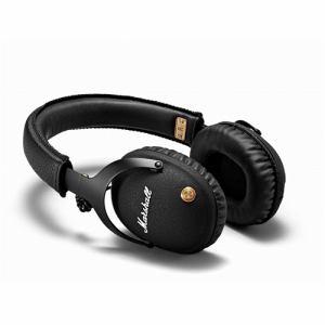 マーシャル ZMH-04091743 Monitor Bluetooth Black ワイヤレスヘッドホン  ブラック