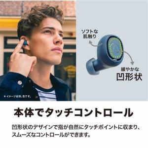 オーディオテクニカ ATH-CK3TW BK 完全ワイヤレスイヤホン Bluetooth マイク対応 ブラック