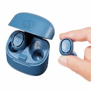 オーディオテクニカ ATH-CK3TW BL ワイヤレスヘッドホン ブルー