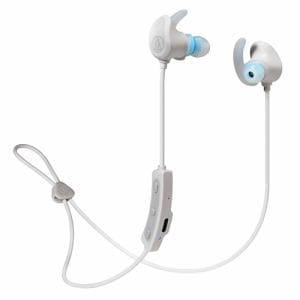 オーディオテクニカ ATH-SPORT60BT WH ワイヤレスヘッドホン ホワイト
