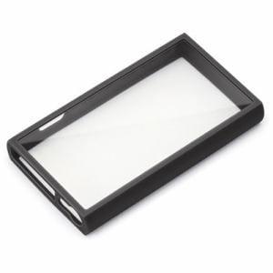 PGA PG-WA100GT2BK WALKMAN NW-A100用 ガラスタフケース ブラック