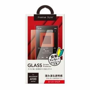 PGA PG-WMA100GL01 WALKMAN NW-A100用 液晶保護ガラス スーパークリア