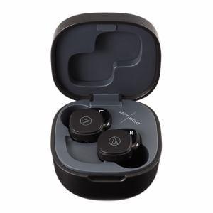 オーディオテクニカ ATH-SQ1TW BK ワイヤレスイヤホン ブラック