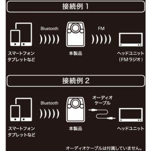 オーディオテクニカ AT-FMR3BT BK Bluetooth搭載FMトランスミッター ブラック