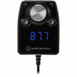 オーディオテクニカ AT-FMR5BT BK Bluetooth搭載FMトランスミッター ブラック