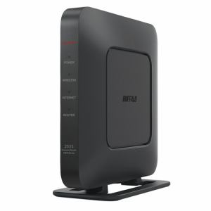 無線ルーター バッファロー  Wi-Fi BUFFALO WSR-2533DHPL2-BK 無線ルーター ブラック