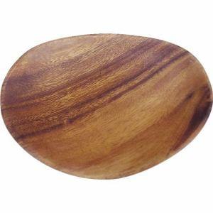 木製食器 アカシアエッグトレー アカシア70184 ブラウン 1人用