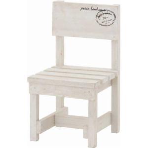 木製ミニチェアー ホワイト