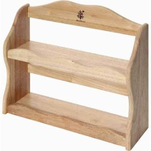 木製スパイスラック ボヌール ナチュラル
