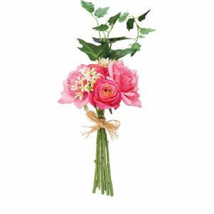 ポピー ローズブーケM FBC-8024 BTY ピンク 全長25cm・花径2.5~8cm・幅15cm