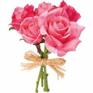ポピー ローズバンチS FB-2331 BTY ピンク 全長15cm・花径2~7cm・幅10cm