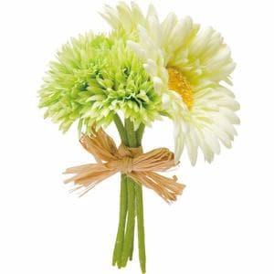 ポピー ガーベラバンチS FB-2332 G/W グリーン 全長16cm・花径5~9cm・幅10cm