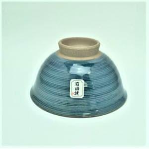 茶碗  粉引千段   青