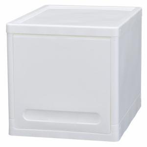 PCフラップ式チェスト フラップラックテオス ホワイト 1段