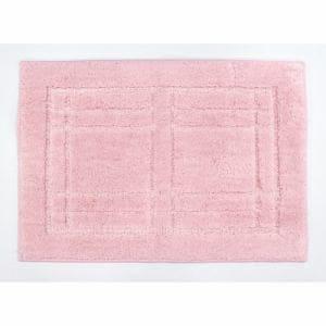 オカ バスマット 洗えるバスマット クリュム ピンク 縦:約45cm×横:約60cm 1枚