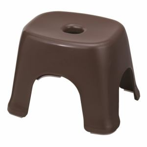 [高さ25cm] 風呂椅子 バスチェア 新輝合成 フロート バスチェアN25 ブラウン カビにくい