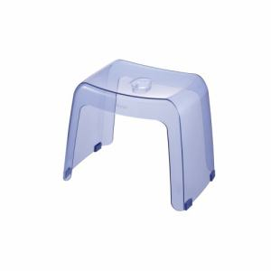 [高さ30cm] 風呂椅子 バスチェア リッチェル カラリ 腰かけ クリアブルー