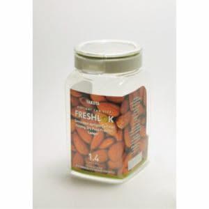 タケヤ化学 フレッシュロック 角型1.4L  クリア