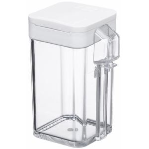 小麦粉&スパイスボトル アクア  ホワイト 容量約200ml(小麦粉:約100g)