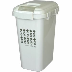 ゴミ箱 45リットル 大容量 屋内外兼用 平和工業 ハンドル付き ジョイントペール サンドベージュ