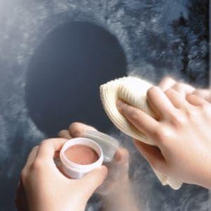 掃除 レック 鏡のみがき剤 B-543 ホワイト 直径5.0cm 高さ3.0cm