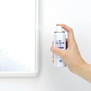 レック 鏡のくもり止めスプレー B-542 ホワイト 直径3.5cm 高さ12.5cm