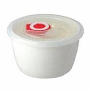 保存容器 高密封レンジ小鉢 340ml ホワイト 1個