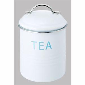 佐藤金属興行 保存容器 キャニスター tea ホワイト