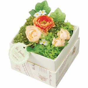 ポピー カラフルフラワーミックスアレンジ FBC-8112   グリーン 全長8.5cm・花径2~5cm・幅10.5cm