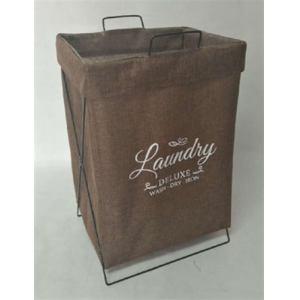 オリタタミランドリーバッグ YS1216-035 ブラウン 49L