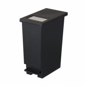 ゴミ箱 フタ付き ペダル式 ユニードプッシュ&ペダル20S   ブラック 新輝合成(株)