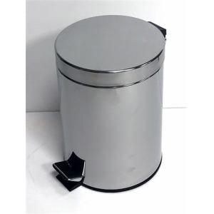 ゴミ箱 フタ付き ペダル式 ステンレスペール YA-001  5L