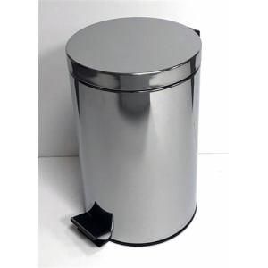 ゴミ箱 フタ付き ペダル式 ステンレスペール YA-002 12L