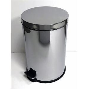 ゴミ箱 フタ付き ペダル式 ステンレスペール YA-003  20L