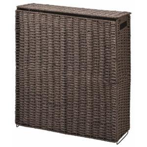 トイレ収納 トイレットペーパー収納ボックス CH-542   ブラウン