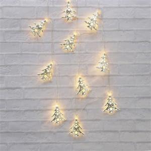 ヤマダオリジナル クリスマス用 LEDライト ツリー 幅285.0cm×奥行0.5cm×高さ6.0cm