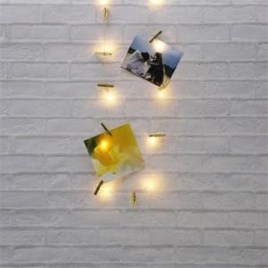 ヤマダオリジナル クリスマス用 LEDライト クリップ付き 幅340.0cm×奥行0.6cm×高さ3.5cm