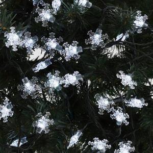 ヤマダオリジナル クリスマス用 LEDライト ガーランド 結晶 幅885.0cm×奥行0.5cm×高さ1.5cm
