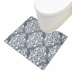 PVCトイレマット クラシーク 抗菌・防臭&防カビ&防炎 もちもちクッションで使い心地もバッチリ ヨコズナクリエーション㈱