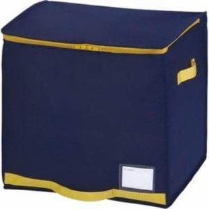収納袋 ふとん保管 コンパクト優収納アルファ 棚上用 ネイビー 1枚入り 東和産業㈱
