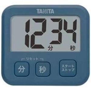 タニタ TD-408-BL デジタルタイマー「薄型タイマー」ブルー