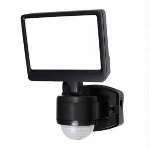 ELPA ESL-SS421AC 屋外用LEDセンサーライト AC電源 1灯ワイド 白色/コンセント式