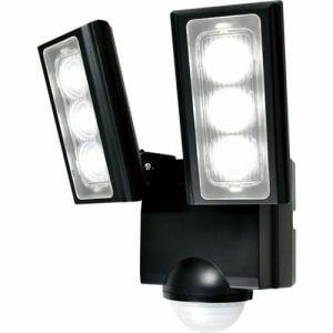ELPA ESL-312DC 屋外用LEDセンサーライト 乾電池式 2灯