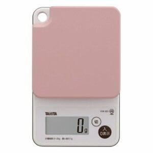 タニタ KW-201-PK デジタルクッキングスケール (2kg) ピンク