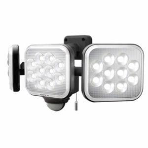 RITEX LEDAC3036 12W×3灯フリーアーム式LEDセンサーライト   黒