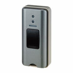 朝日電器 EWS-P31 ワイヤレスチャイム 押しボタン送信器 グレー