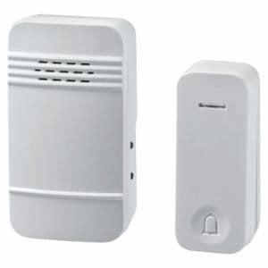 朝日電器 WC-S6040AC 電池を使わないワイヤレスチャイムセット 防雨 押しボタン