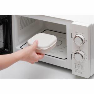 マーナ K748W 極冷凍ごはん容器2個セット 極お米シリーズ 約280ml ホワイト